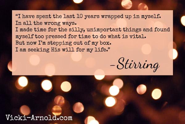 Stirring - Something more...