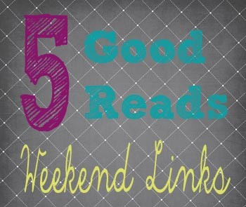 Good reads for your weekend reading.