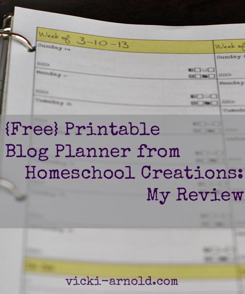 Blog Planner review