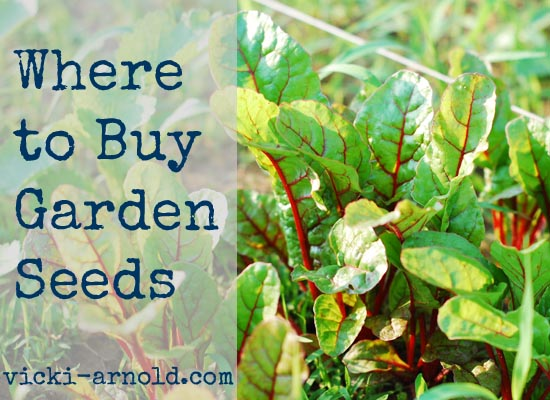 Where to buy your heirloom garden seeds