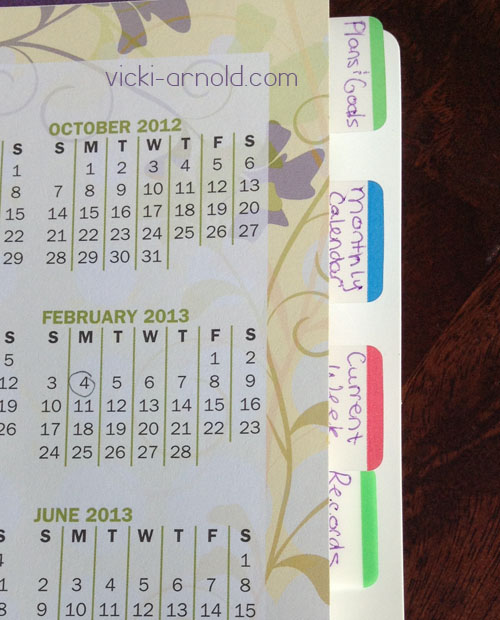 Tabs added to my Ultimate Homeschool planner