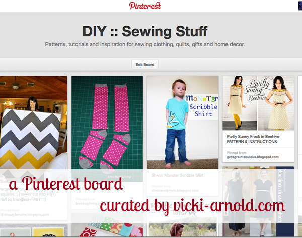 DIY :: Sewing Stuff - a Pinterest board curated by vicki-arnold.com