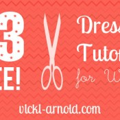 23 Free Dress Tutorials for Women.