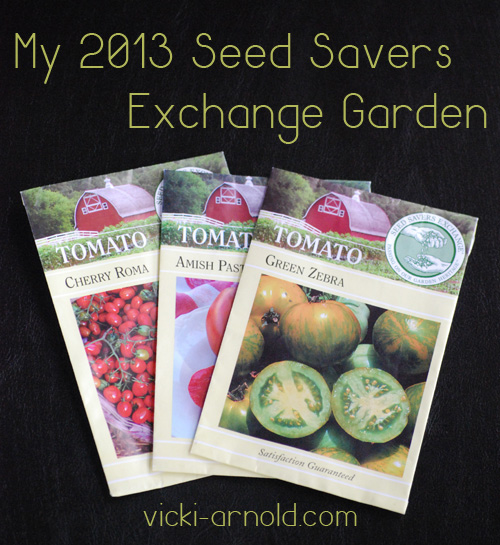 My 2013 Seed Savers Exchange Garden Seed Order