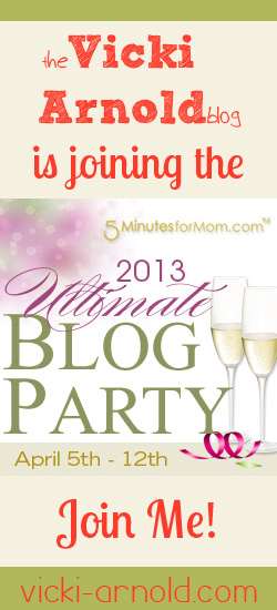 I'm joining 5 Minutes for Mom's Ultimate Blog Party 2013! Join me!