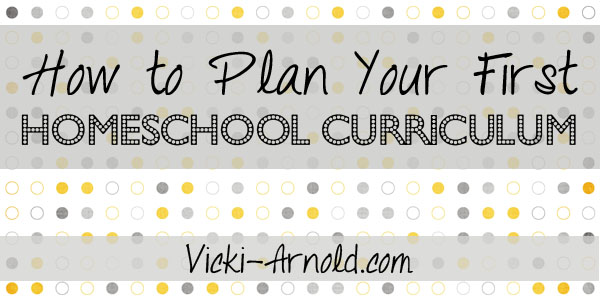 How to plan your first homeschool curriculum - advice on how to choose what's right for your homeschool.