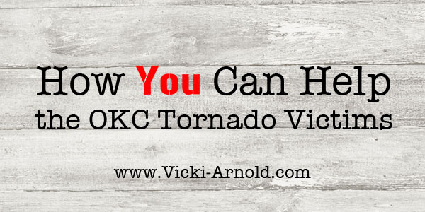 How to help the Oklahoma City tornado victims.