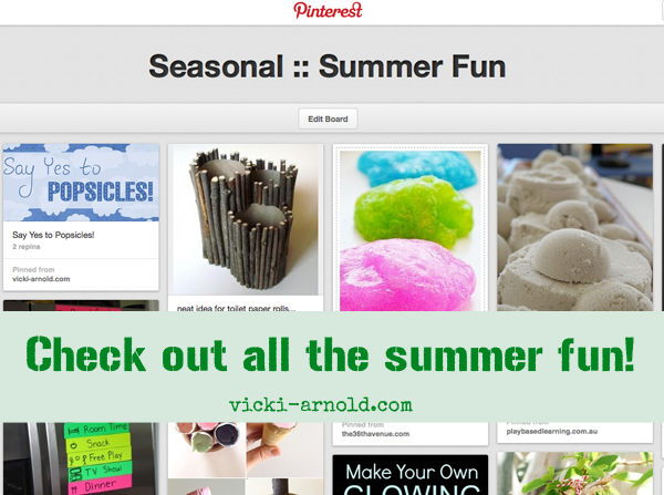 Summer fun ideas Pinterest board!