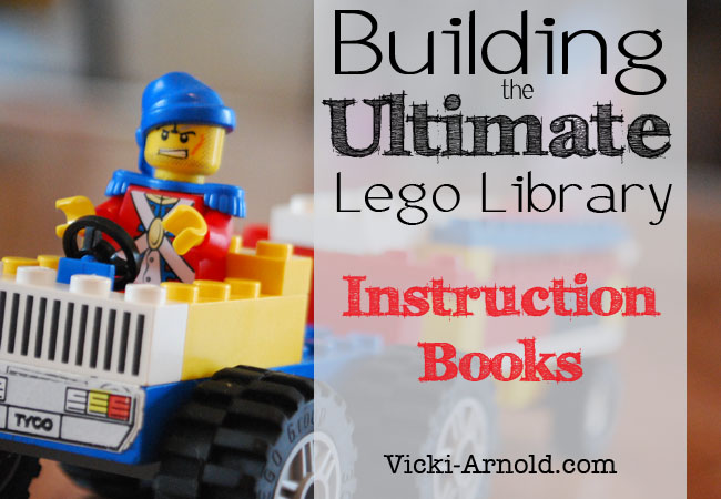 Building The Ultimate Lego Library Instruction Books Simply Vicki