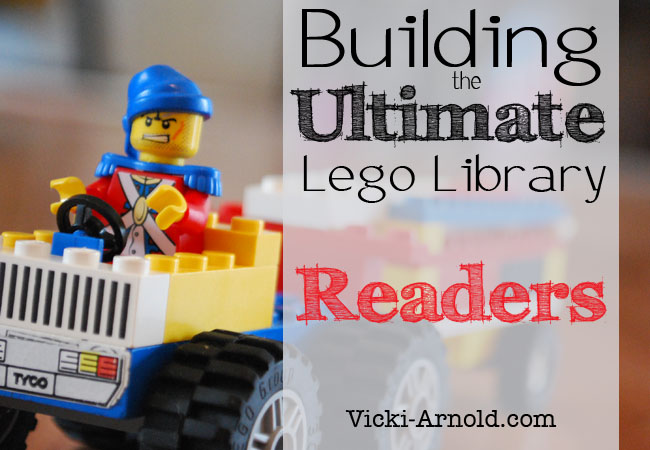 Building the Ultimate Lego Library series. First post is a list of Lego readers.