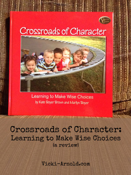 Crossroads of Character {a review} + giveaway