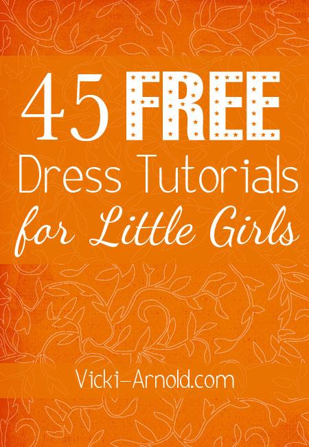Free Dress Tutorials for Little Girls