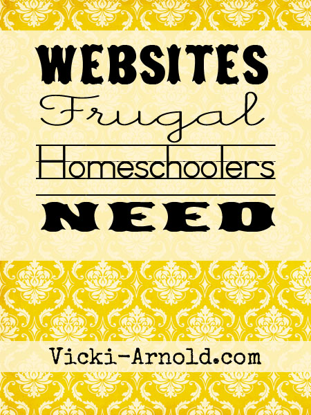 Websites frugal homeschoolers need to know about.