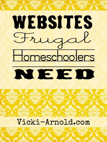 Websites Frugal Homeschoolers Need