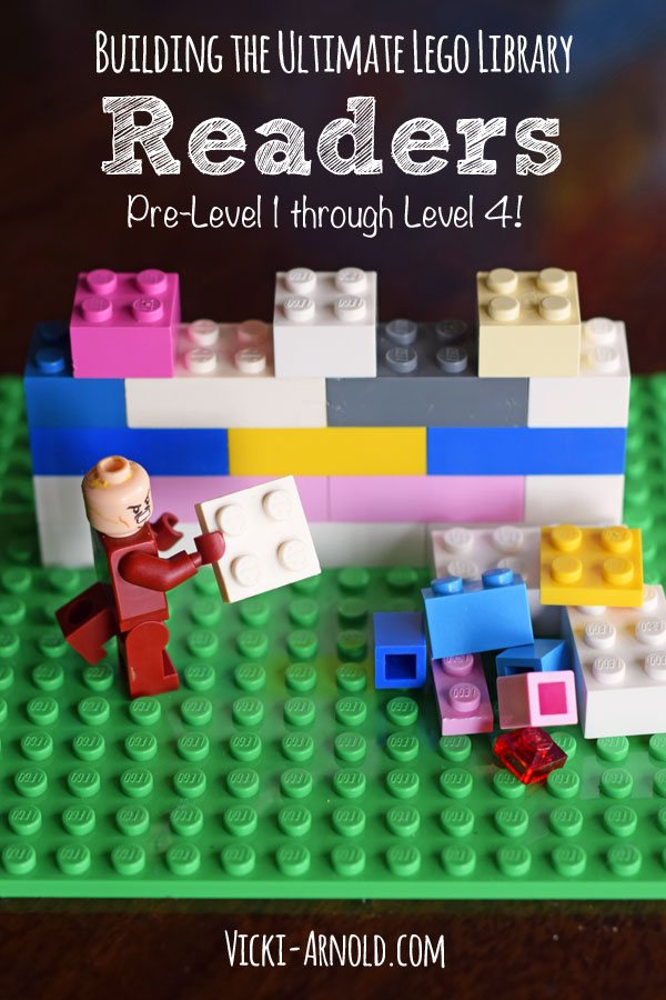 Building the Ultimate LEGO Library! - Readers from pre-level 1 through level 4! Newly updated list!