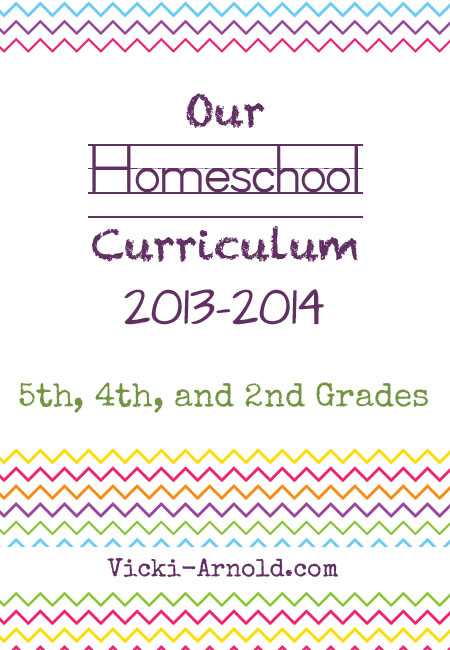 Looking to make homeschool curriculum decisions? Come see what we are using for 5th, 4th, and 2nd grades. #homeschool post @ www.vicki-arnold.com
