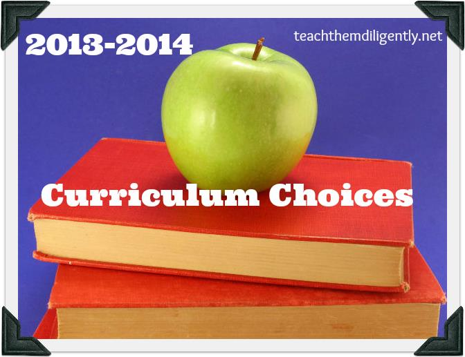 Come see what homeschool curriculum the Teach Them Diligently bloggers will be using this year.