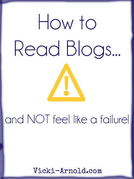 How to Read Blogs and Not Feel Like a Failure
