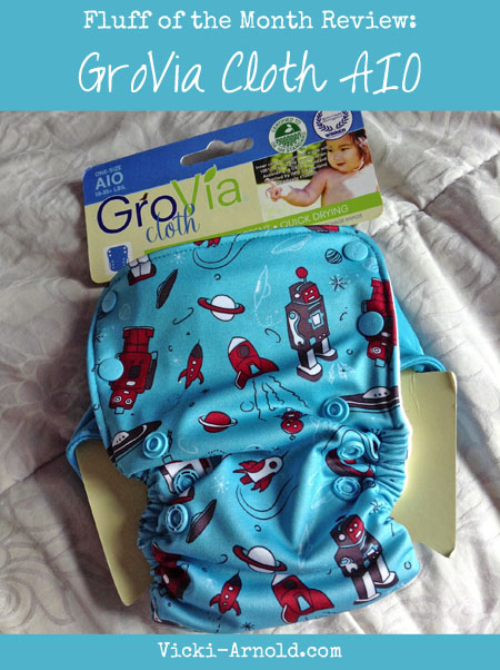 GroVia cloth all-in-one cloth diaper review