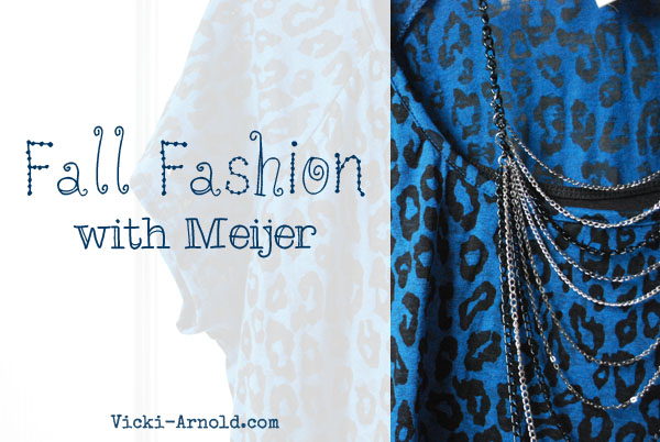 Meijer Fall Fashion Look - #MeijerStyle