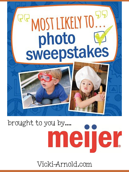 Most Likely To...photo sweepstakes brought to you by Meijer! Learn more in this post at Vicki-Arnold.com