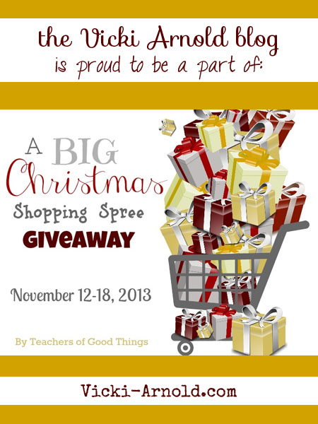 A BIG Christmas Shopping Spree Giveaway!