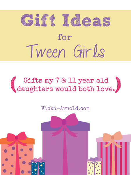 Gift ideas for tween girls (gifts my 7 & 11 year old daughters would both love)