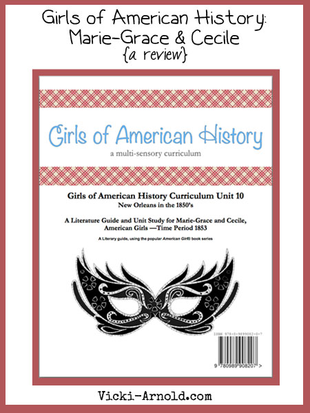 Girls of American History: Marie-Grace & Cecile (a review)