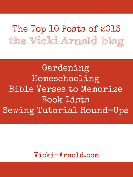 A Bloggy Year in Review & Looking Forward at Vicki-Arnold.com