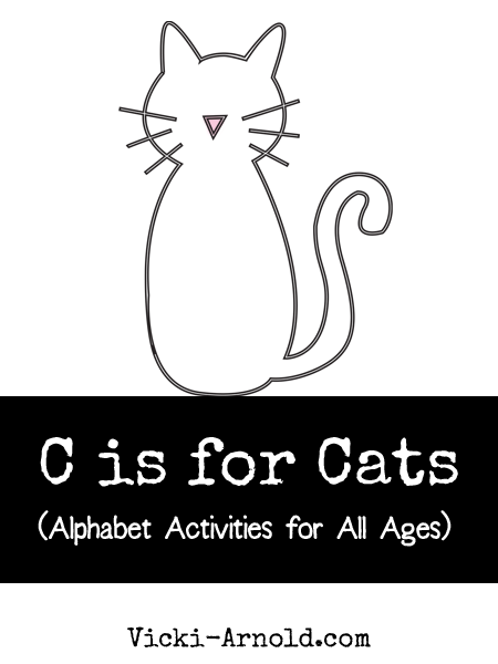 C is for Cats (Alphabet Activities for All Ages) from Vicki-Arnold.com