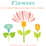 31 Books About Flowers - Art, Poetry, History, Science, and Picture books from Vicki-Arnold.com