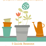 Why Should I Bother With a Garden? 5 Quick Reasons to Grow a Garden on Vicki-Arnold.com