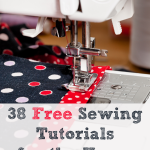 38 Free Sewing Tutorials for the Home | vicki-arnold.com