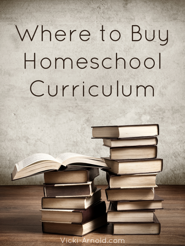 Where to Buy Homeschool Curriculum | Vicki-Arnold.com
