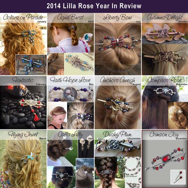 Lilla Rose Flexi of the Month 2014 - Back in limited supply for Black Friday!