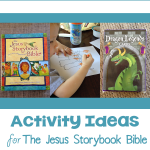 Activity Ideas for The Friend of Little Children from The Storybook Bible | Vicki-Arnold.com