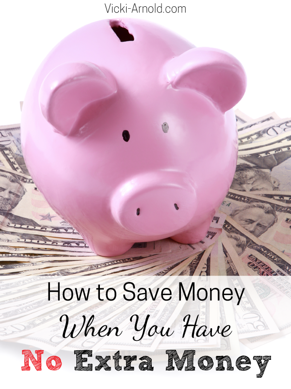 How to Save Money for Christmas When You Have No Extra Money | Vicki-Arnold.com