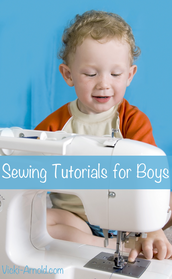 Sewing Tutorials for Boys from Vicki-Arnold.com
