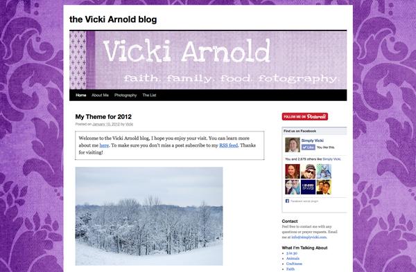 Simply Vicki - January 2012