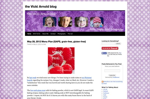 Simply Vicki - June 2012
