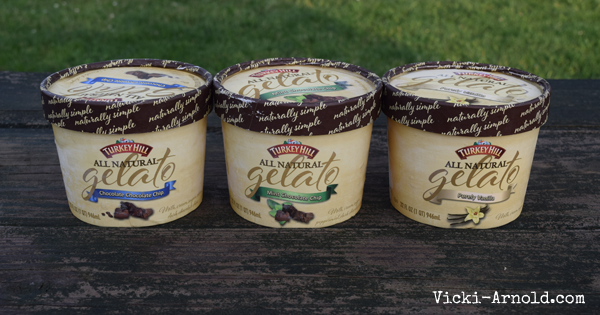 Turkey Hill Dairy's All Natural Gelato - made with simple ingredients.