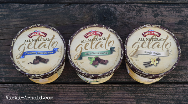 Turkey Hill Dairy's all natural gelato - made with simple ingredients