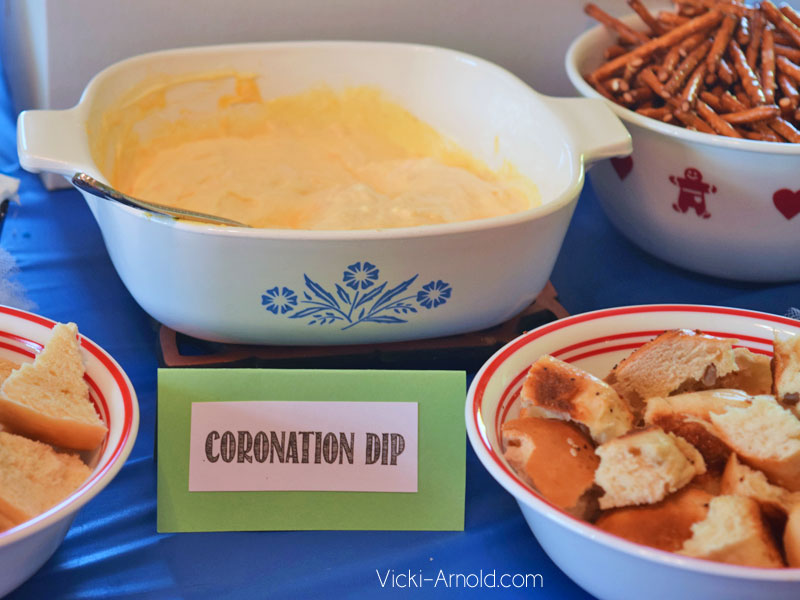 Food Ideas for a Frozen Theme Party - Coronation Dip
