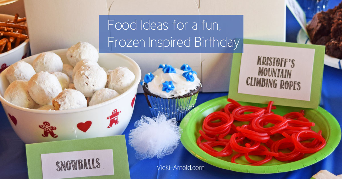 Food Ideas for a Frozen Themed