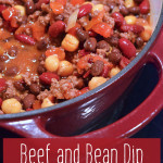 Beef and Bean Dip Recipe - A Frugal Family Dinner