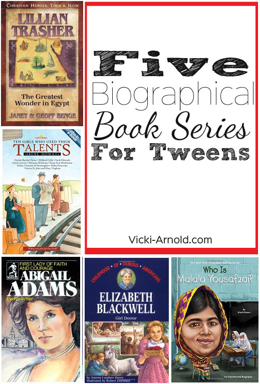Biographical Series for Tween Girls