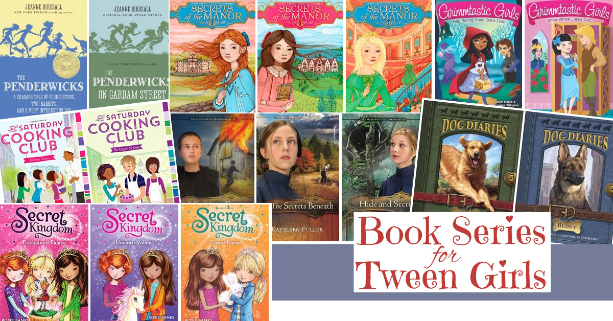 how to write a tween book series