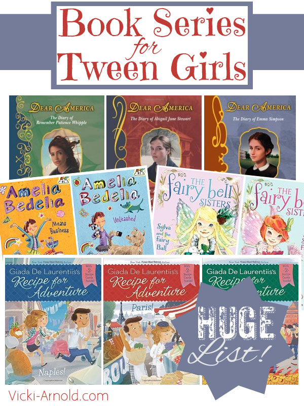 Book Series for Tween Girls - Contemporary fiction