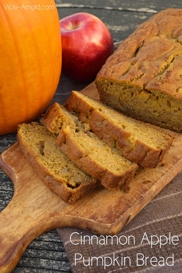 Cinnamon Apple Pumpkin Bread Recipe