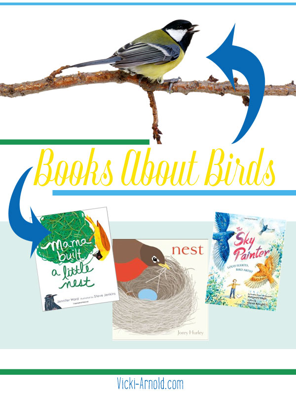 Books About Birds - A book list all about birds!